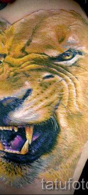 фото тату львица для статьи про значение татуировки львица – tatufoto.ru – 35