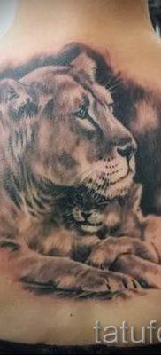 фото тату львица для статьи про значение татуировки львица – tatufoto.ru – 36
