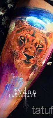 фото тату львица для статьи про значение татуировки львица – tatufoto.ru – 46