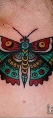 фото тату мотылек для статьи про значение татуировки мотылек – tatufoto.ru – 3