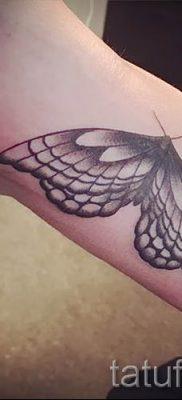фото тату мотылек для статьи про значение татуировки мотылек – tatufoto.ru – 7