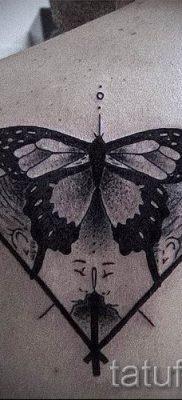 фото тату мотылек для статьи про значение татуировки мотылек – tatufoto.ru – 8