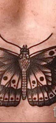 фото тату мотылек для статьи про значение татуировки мотылек – tatufoto.ru – 17