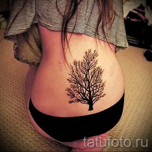 фото тату на пояснице для статьи про значение татуировок на пояснице - tatufoto.ru - 45