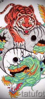 фото тату оскал тигра для статьи про значение татуировки с оскалом – tatufoto.ru – 10