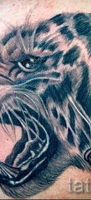 фото тату оскал тигра для статьи про значение татуировки с оскалом – tatufoto.ru – 34