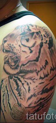 фото тату оскал тигра для статьи про значение татуировки с оскалом – tatufoto.ru – 37