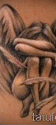 фото тату падший ангел для статьи про значение татуировки – tatufoto.ru – 1