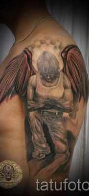 фото тату падший ангел для статьи про значение татуировки – tatufoto.ru – 3
