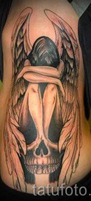 фото тату падший ангел для статьи про значение татуировки – tatufoto.ru – 4