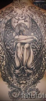 фото тату падший ангел для статьи про значение татуировки – tatufoto.ru – 5