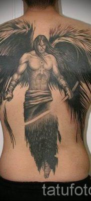 фото тату падший ангел для статьи про значение татуировки – tatufoto.ru – 8