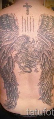 фото тату падший ангел для статьи про значение татуировки – tatufoto.ru – 12