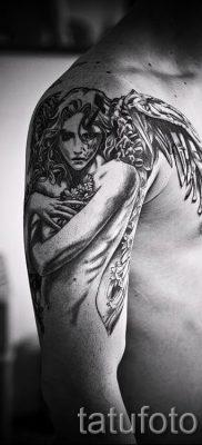 фото тату падший ангел для статьи про значение татуировки – tatufoto.ru – 14