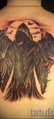 фото тату падший ангел для статьи про значение татуировки – tatufoto.ru – 17