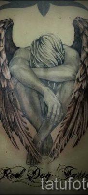 фото тату падший ангел для статьи про значение татуировки – tatufoto.ru – 22