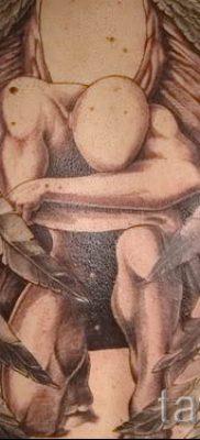 фото тату падший ангел для статьи про значение татуировки – tatufoto.ru – 25