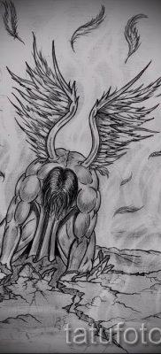 фото тату падший ангел для статьи про значение татуировки – tatufoto.ru – 31