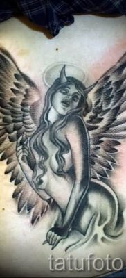фото тату падший ангел для статьи про значение татуировки – tatufoto.ru – 32