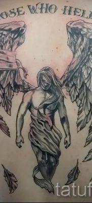 фото тату падший ангел для статьи про значение татуировки – tatufoto.ru – 33