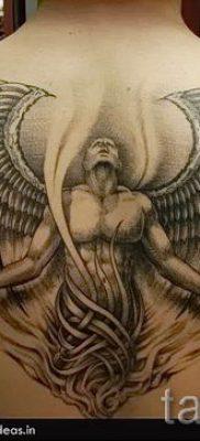 фото тату падший ангел для статьи про значение татуировки – tatufoto.ru – 39