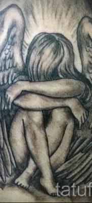 фото тату падший ангел для статьи про значение татуировки – tatufoto.ru – 55