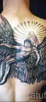 фото тату падший ангел для статьи про значение татуировки – tatufoto.ru – 58