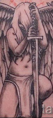 фото тату падший ангел для статьи про значение татуировки – tatufoto.ru – 62