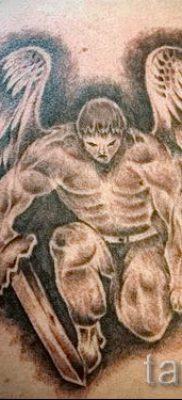 фото тату падший ангел для статьи про значение татуировки – tatufoto.ru – 67