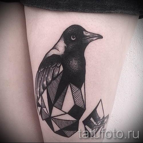 фото тату пингвин для статьи про значение татуировки пингвин - tatufoto.ru - 11