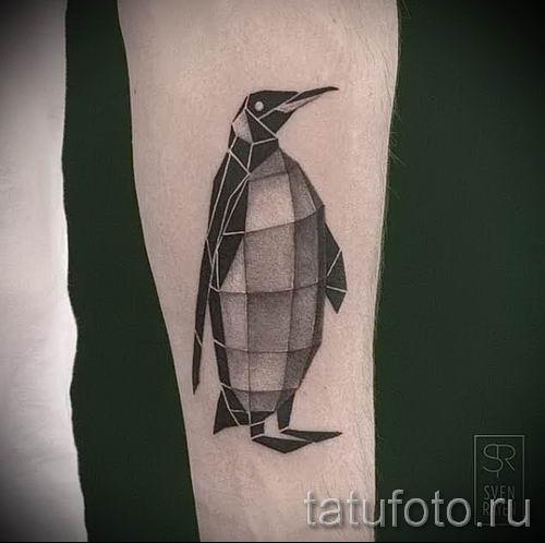 фото тату пингвин для статьи про значение татуировки пингвин - tatufoto.ru - 28