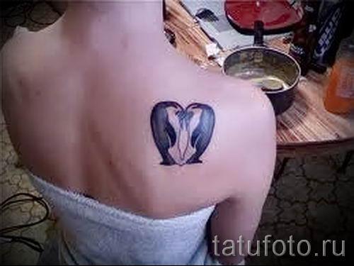 фото тату пингвин для статьи про значение татуировки пингвин - tatufoto.ru - 38