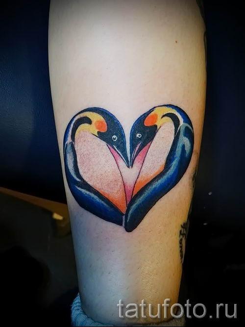 фото тату пингвин для статьи про значение татуировки пингвин - tatufoto.ru - 39