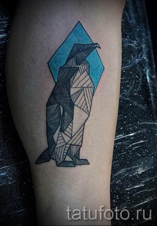фото тату пингвин для статьи про значение татуировки пингвин - tatufoto.ru - 40