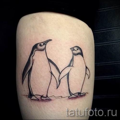 фото тату пингвин для статьи про значение татуировки пингвин - tatufoto.ru - 43