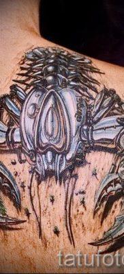 фото тату рак для статьи про значение татуировки с рисунком рака – tatufoto.ru – 2