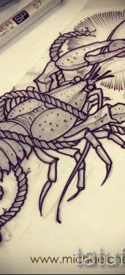 фото тату рак для статьи про значение татуировки с рисунком рака – tatufoto.ru – 3
