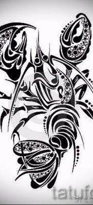 фото тату рак для статьи про значение татуировки с рисунком рака – tatufoto.ru – 5