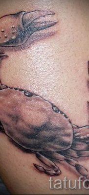 фото тату рак для статьи про значение татуировки с рисунком рака – tatufoto.ru – 14