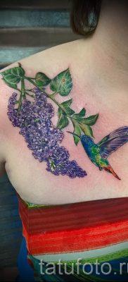 фото тату сирень для статьи про значение татуировки сирень – tatufoto.ru – 23