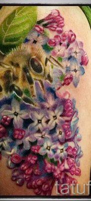 фото тату сирень для статьи про значение татуировки сирень – tatufoto.ru – 30