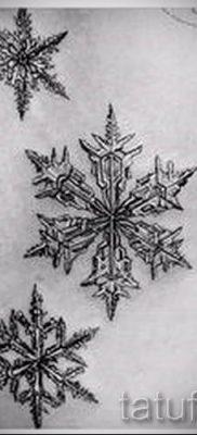 фото тату снежинка для статьи про значение татуировки снежинка – tatufoto.ru – 27