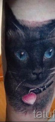 фото тату с черной кошкой для статьи про значение татуировки – tatufoto.ru – 57