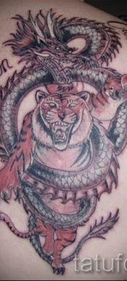 фото тату тигр и дракон для статьи про значение татуировки – tatufoto.ru – 7
