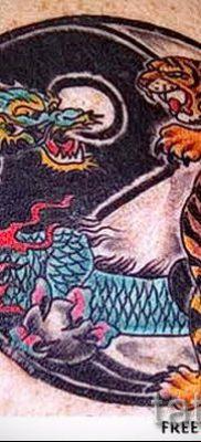 фото тату тигр и дракон для статьи про значение татуировки – tatufoto.ru – 14