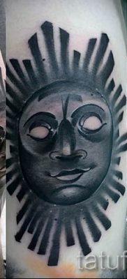 фото тату черное солнце для статьи про значение тату черное солнце – tatufoto.ru – 25