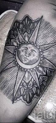 фото тату черное солнце для статьи про значение тату черное солнце – tatufoto.ru – 31