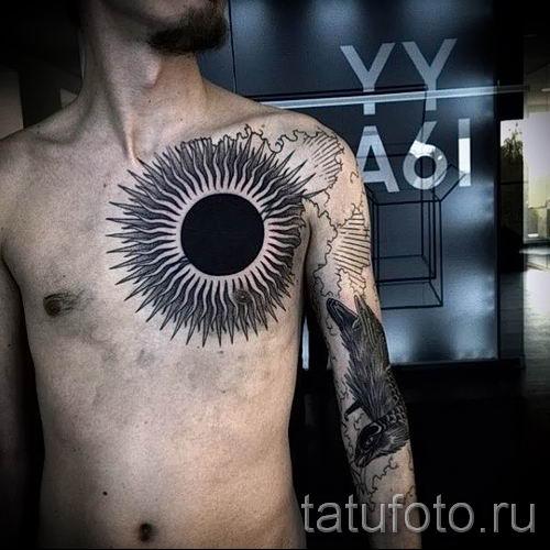 Значение тату черное солнце