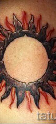 фото тату черное солнце для статьи про значение тату черное солнце – tatufoto.ru – 47
