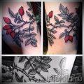 фото тату шиповник для статьи про значение татуировки шиповник - tatufoto.ru - 4